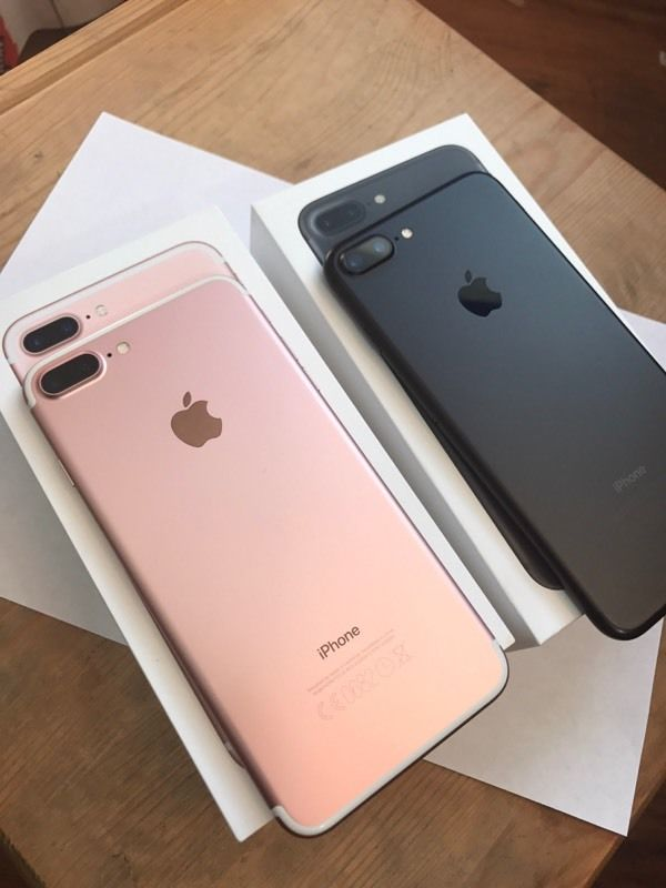 Apple iPhone 7 32GB --- €350 e Apple iPhone 7 Plus