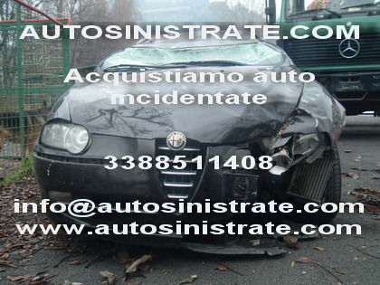 auto sinistrate incidentate