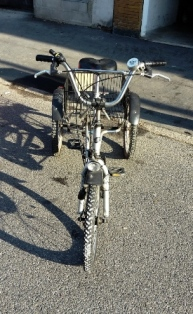 Vendo bici per disabile