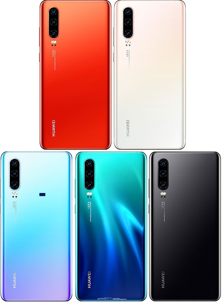 Huawei P30/P30 Pro Apple iPhone XS/XS Max Samsung